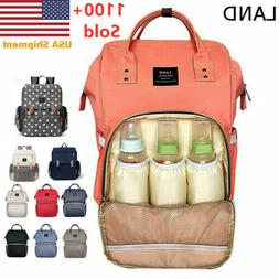 LAND Nappy Diaper Mummy Bag Multifunction Travel waterproof