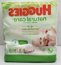 Huggies Natural Care Baby Wipes Unscented Sensitive 3 X 56 P