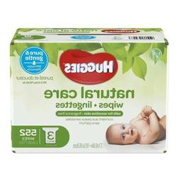 natural care hypoallergenic unscented baby wipes sensitive
