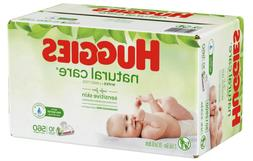 Huggies Natural Care Unscented Baby Wipes Fragrance Free 168