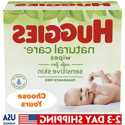 HUGGIES Natural Care Unscented Baby Wipes, Sensitive, Refill
