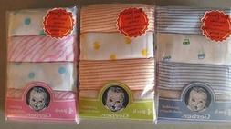 New Gerber 4 pk Diapers, Baby Shower, Burp cloth, Car, Duck