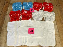 NEW Adjustable Reusable Baby Washable Cloth Diaper Nappies -