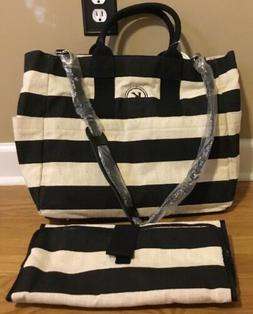 NEW Pottery Barn Kids Baby Fillmore Diaper Bag + Changing Pa