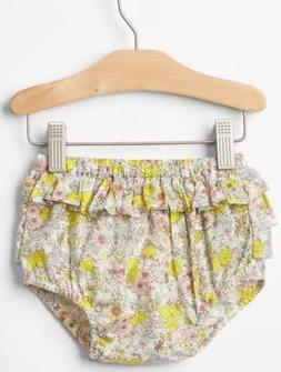 New- Baby Gap Size 3-6 Months Lemon Ruffle Bottom Bloomers D
