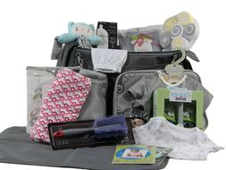 New Baby Gift Surprise Diaper Bag Filled With At Least A Doz