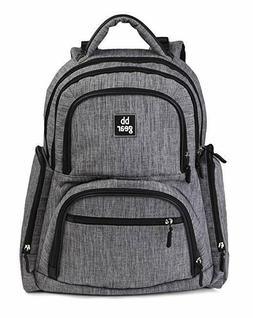 NEW BB Gear Unisex Diaper Bag Backpack for Men & Women – S