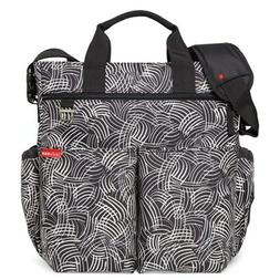 New Skip Hop Duo Signature Messenger Bag Diaper Baby & Chang