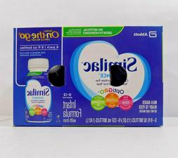 NEW IN BOX SIMILAC ADVANCE ON THE GO READY TO FEED LIQUID 8