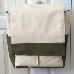 New Petunia Pickle Bottom Pathway Pack Natural Canvas Olive
