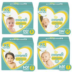 NEW Pampers Swaddlers Disposable Baby Diapers, Enormous Pack