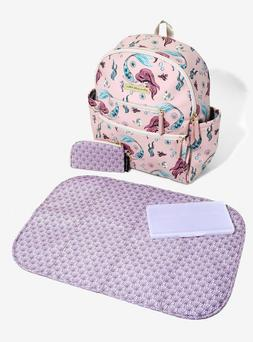 NEW! Petunia Pickle Bottom The Little Mermaid Ace Backpack D