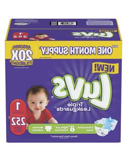 New Luvs Ultra Leakguards Diapers Sizes 1 2 3 4 5 Overnight