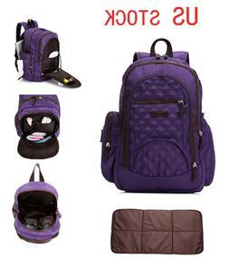 New Unisex Smart Multi-function Waterproof Backpack Baby Dia