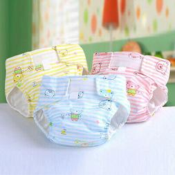 Newborn Baby Breathable Washable Reusable Soft Cotton Nappy