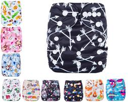 Newborn Baby Cloth Diapers OneSize Reusable Pocket Nappy+ 1