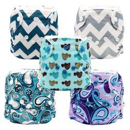 MABOJ Newborn Cloth Diaper Waterproof and Reusable Cloth Nap