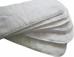 Newborn Diaper Inserts Soaker Pads Cloth Overnight Work with