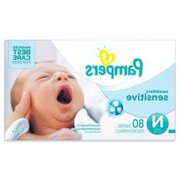 Newborn Diapers Hypoallergenic Swaddlers Sensitive 80 Count