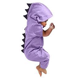 FEITONG Newborn Infant Baby Boy Girl Dinosaur Dorsal Fin One
