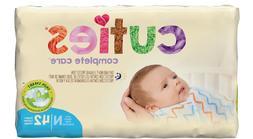 Cuties Newborn Tab Closure Diapers, Heavy Absorbency, Case o
