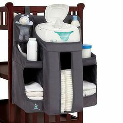 hiccapop Nursery Organizer and Baby Diaper Caddy   Hanging D