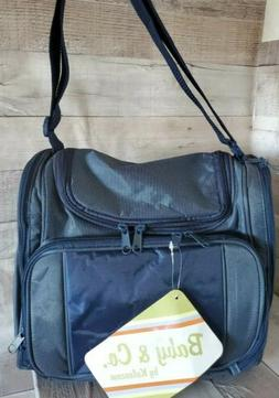 NWT Baby & Co diaper bag by Kalencom New Orleans Navy Blue M