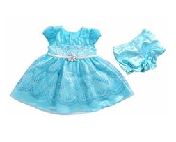 NWT Jona Michelle Baby Girl's 2 Piece Dress With Diaper Cove