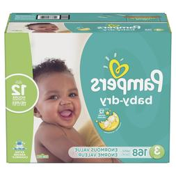** OFF 20%** Pampers Baby Dry Diapers Size 3 168 Count