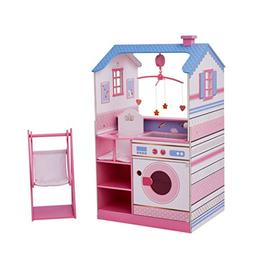 Olivia's Little World - Unicorn Wooden Nursery Center Dollho