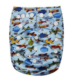one size baby cloth diaper with 2