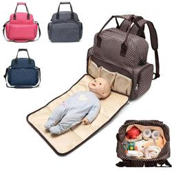 Outdoor Baby Infant Stuff Bottle Diaper Bag Backpack With Di