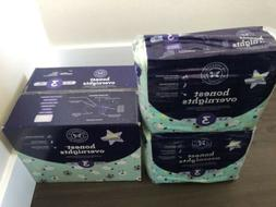 Honest Overnight 120 Diapers Size 3 Sheep Print