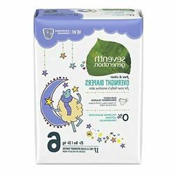 Seventh Generation Baby Overnight Diapers Stage 6