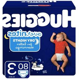 HUGGIES OverNites Disposable Diapers Size 3, 4 & 5 *Free 2 d