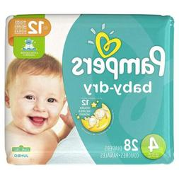 Pampers Baby Dry Diapers - Size 4, 24 ct