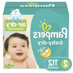 Pampers Baby Dry Size 2 Diapers Super Pack - 112 Count