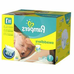 Pampers Swaddlers Diapers Newborn Size 1  216 Count