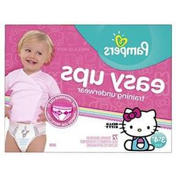 Pampers Easy Ups Training Pants for Girl 3T/4T Super Pack -