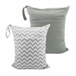 pañal tela mojado seco bolsas impermeables reutilizables co