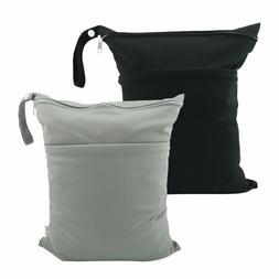 panales tela bolsas secas humedas reutilizables con