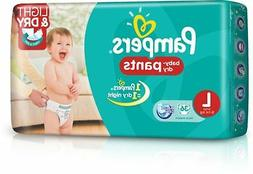 Pampers Pants Diaper L Size  34 Pads...