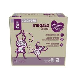 280 Parent's Choice Disposable Diapers Size 5  *Free 2 day S