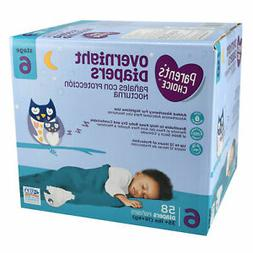 Parent's Choice WM6013/4 Size 6 Overnight Disposable Diapers
