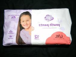 Parents choice Night Time Underwear L XL 8-14 60-125 lbs 11