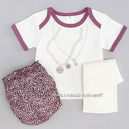 PERFECT BUM~Cloth DIAPER Cover+Prefold Insert Liner+Shirt~Sm
