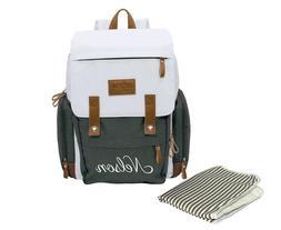Personalized Diaper Bag Backpack - Monogrammed Diaper Bag -