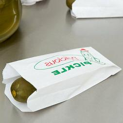 Pickle Bag Printed Paper Pickle Bag 1000/case