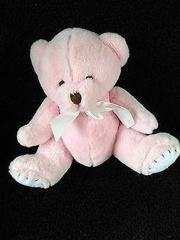 "Stephan Baby Pink ""My First Teddy"" Plush Bear"