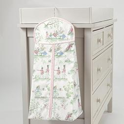Carousel Designs Pink Over the Moon Toile Diaper Stacker